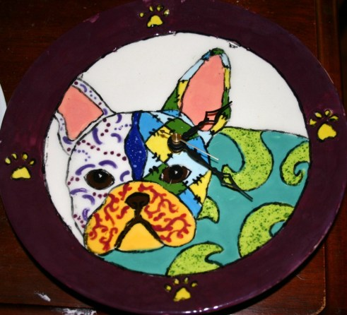French Bulldog Village's Mystery Clock Unveiled!