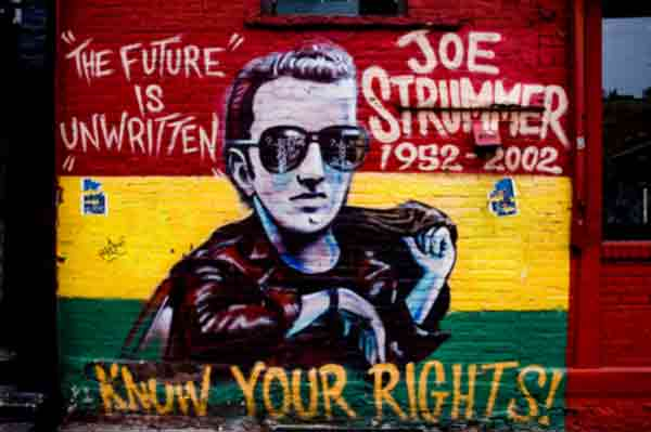 I miss Joe Strummer