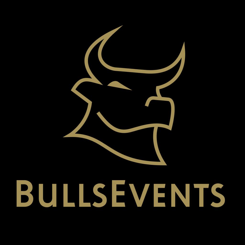 BullsEvents verhuur zwart logo