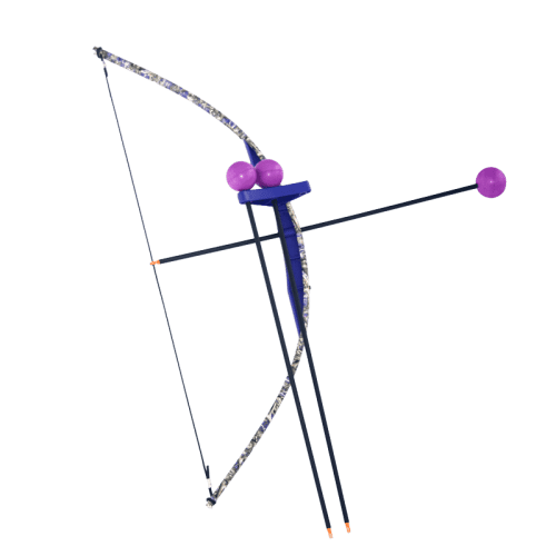 Purple-Camo-Toy-Bow-and-Arrow-Trainer