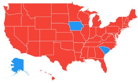 US map voice dwts