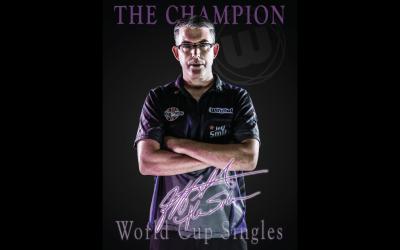 Jeff Smith World Cup Singles Champion!