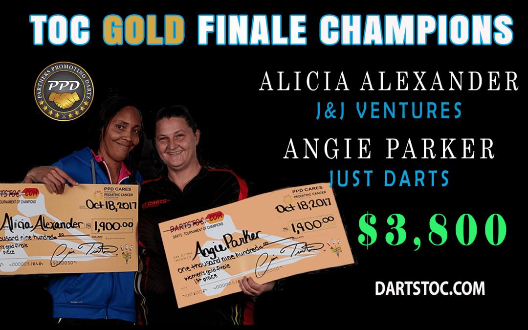 TOC GOLD Finale Ladies 2017 Champions