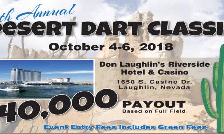 Desert Dart Classic 2018