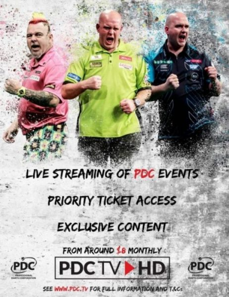 PDC TV – GET CONNECTED TODAY!