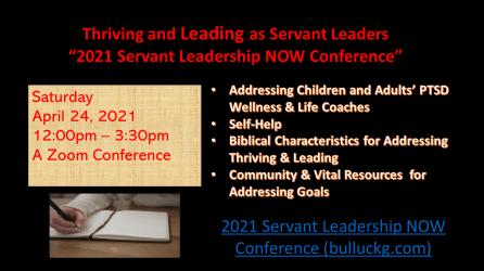 #servantleadership Agenda