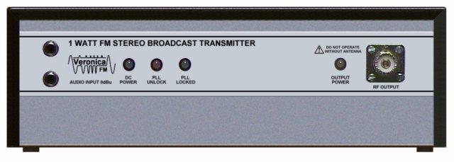 1 WATT FM TRANSMITTER PROFESSIONAL RANGE Continuous