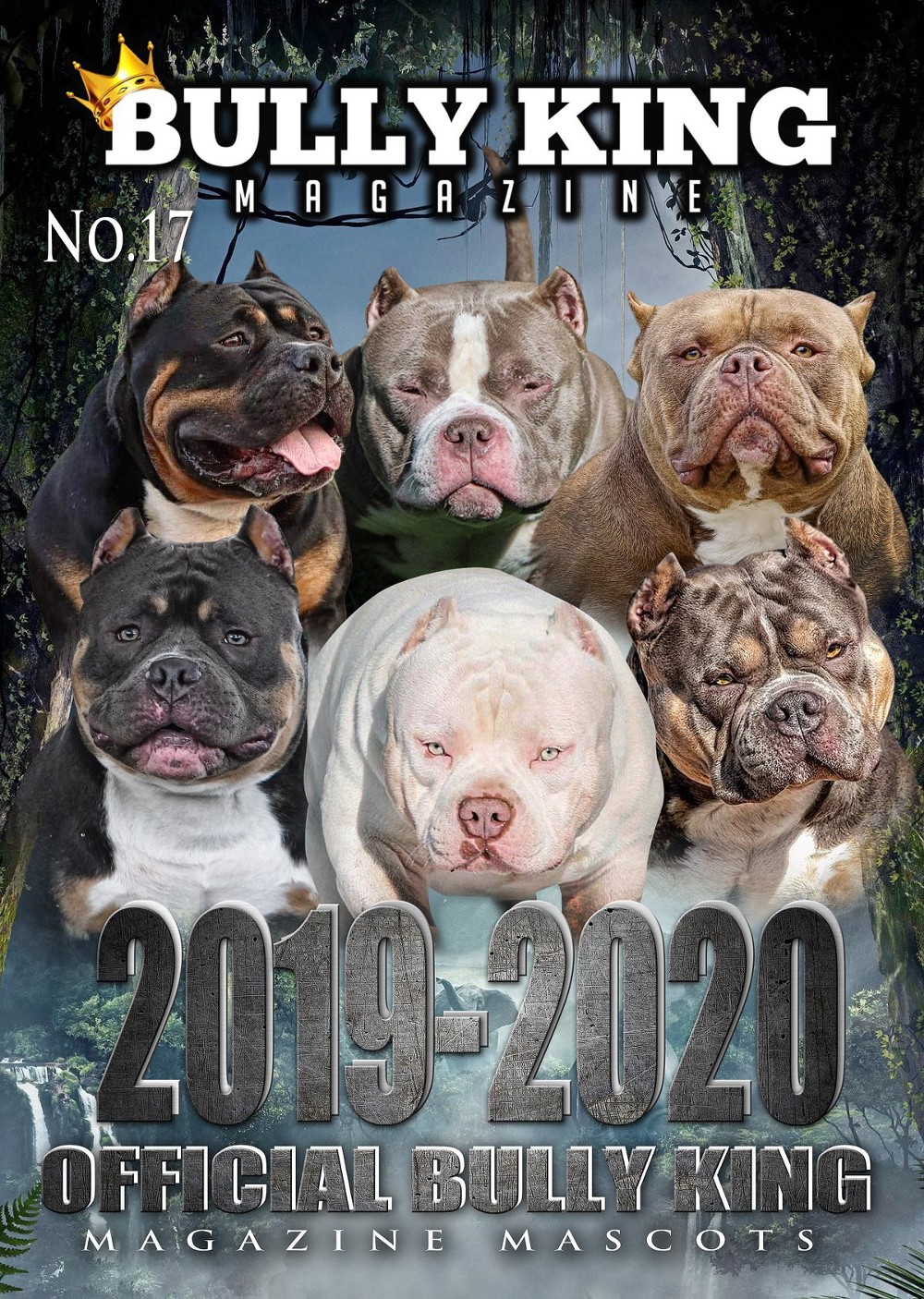 INTRODUCING THE OFFICIAL 2020-2021 BULLY KING MAGAZINE MASCOTS