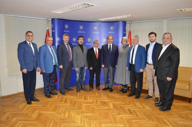 BULTÜK'ten Sofya Büyükelçiliğine Ziyaret - BULTÜRK Derneği