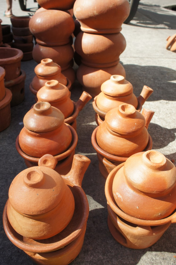 Clay toy pots and pans from Tiwi, Albay