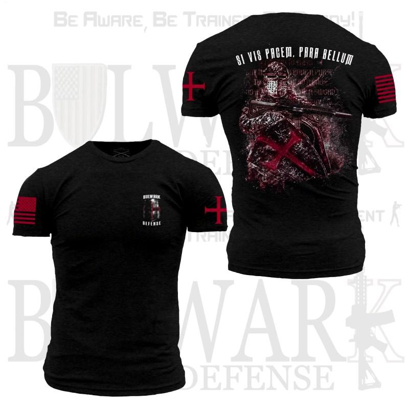 Modern Templar T-Shirt (Front & Back)