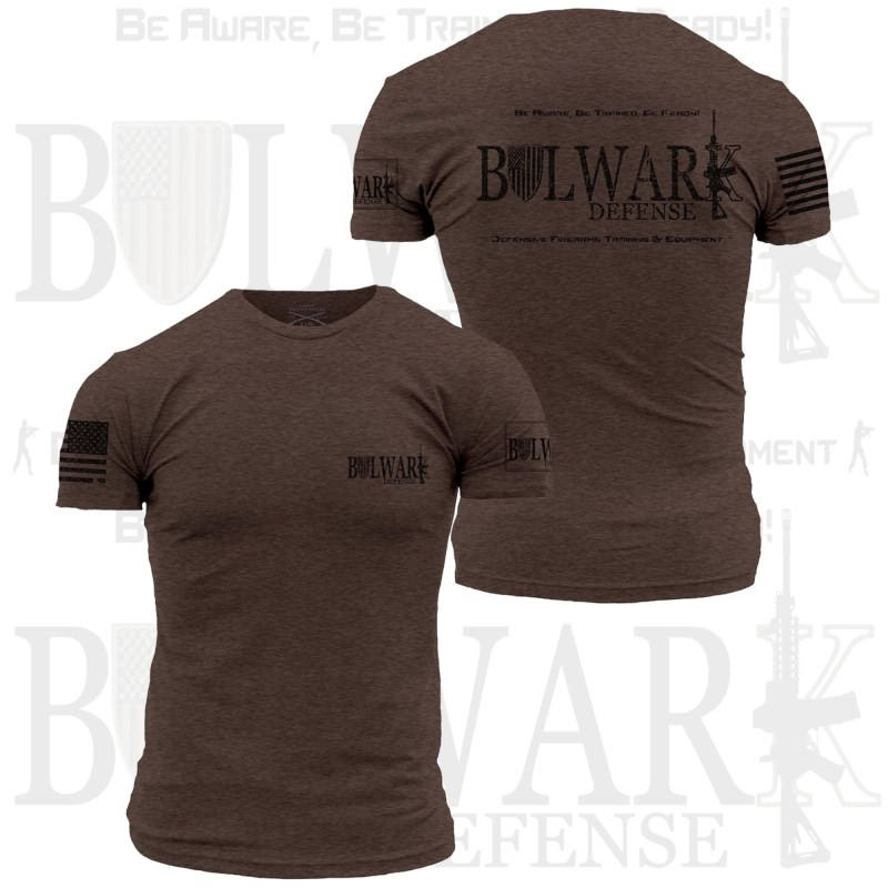 BULWARK DEFENSE - TShirt - Espresso Brown