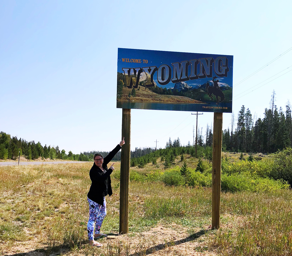 Wyoming State Sign Bucket List Update By Bumble and Bustle