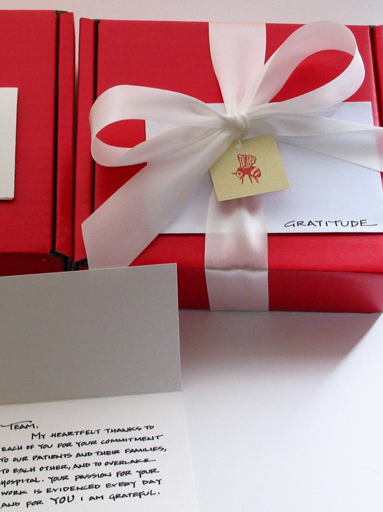 Chocolate Gratitude Box - bumble B design, Seattle, WA