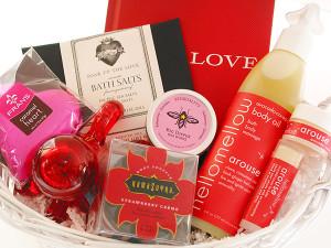 """Soak up the Love"" Spa Basket www.bumbleBdesign.com"