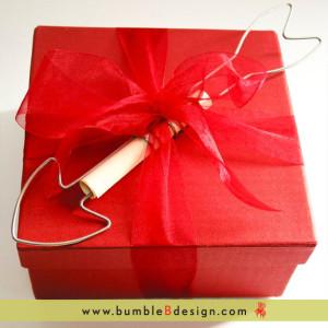 Cupid's Arrow Box: Sweet www.bumbleBdesign.com