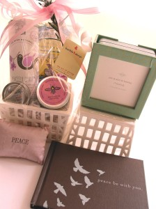 Relaxation Gift Basket, bumble B design, Seattle