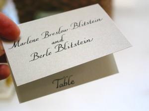 calligraphy - bumble B design - Seattle, WA