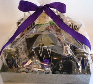 Custom University of WA New Year's gifts for Catalyst Marketing (bumble B design)