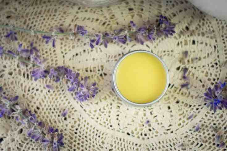 Tallow lip balm recipe with honey