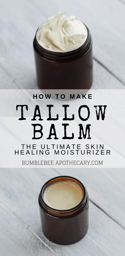 How to make tallow balm, the ultimate skin healing moisturizer #skincare #diy #tallow #natural #wapf
