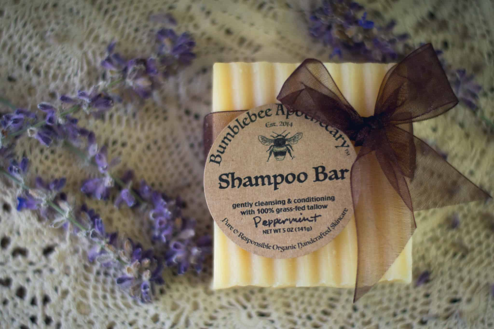 Tallow shampoo bar recipe peppermint