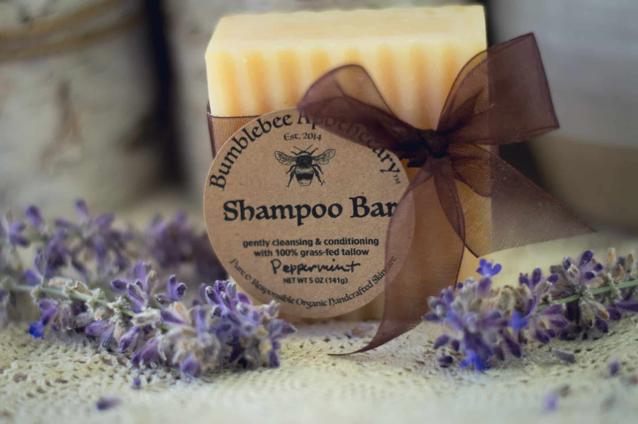 Tallow shampoo bar recipe and tutorial