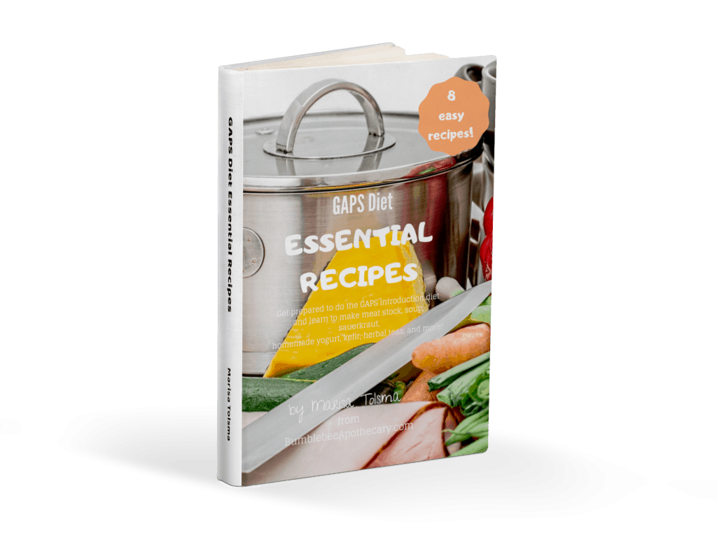 GAPS diet essential recipes free ebook