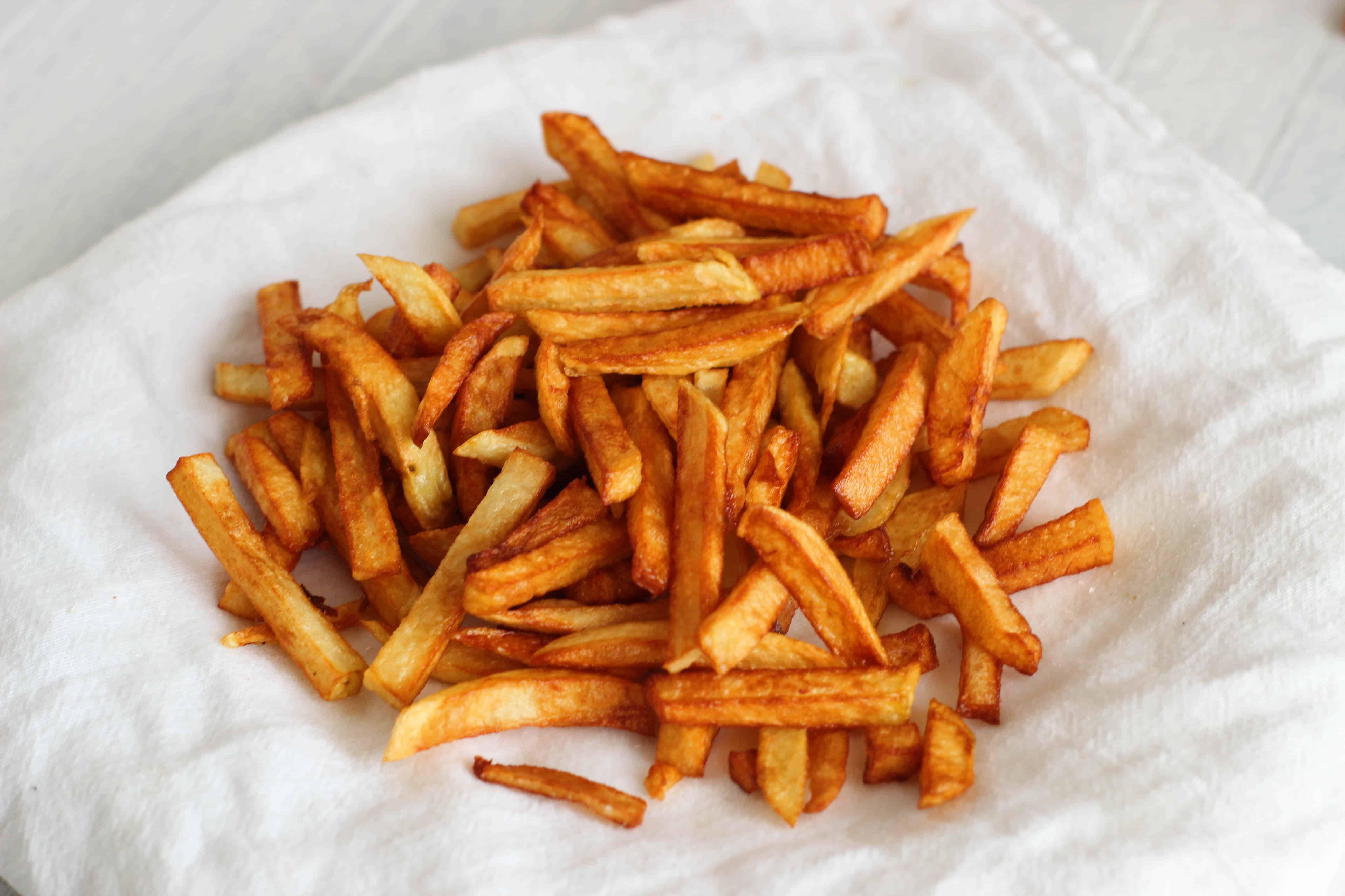 Beef tallow fries recipe