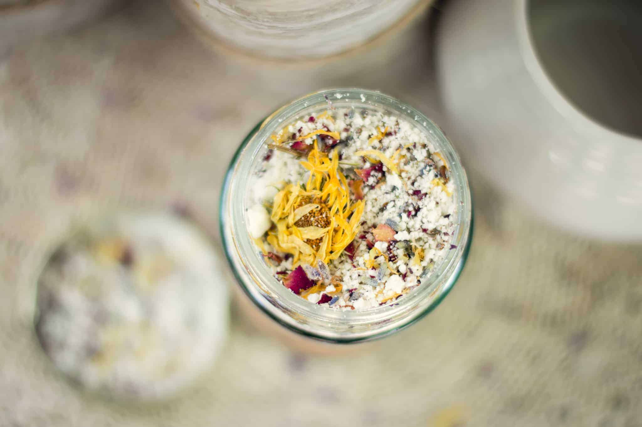 Herbal bath salts recipe