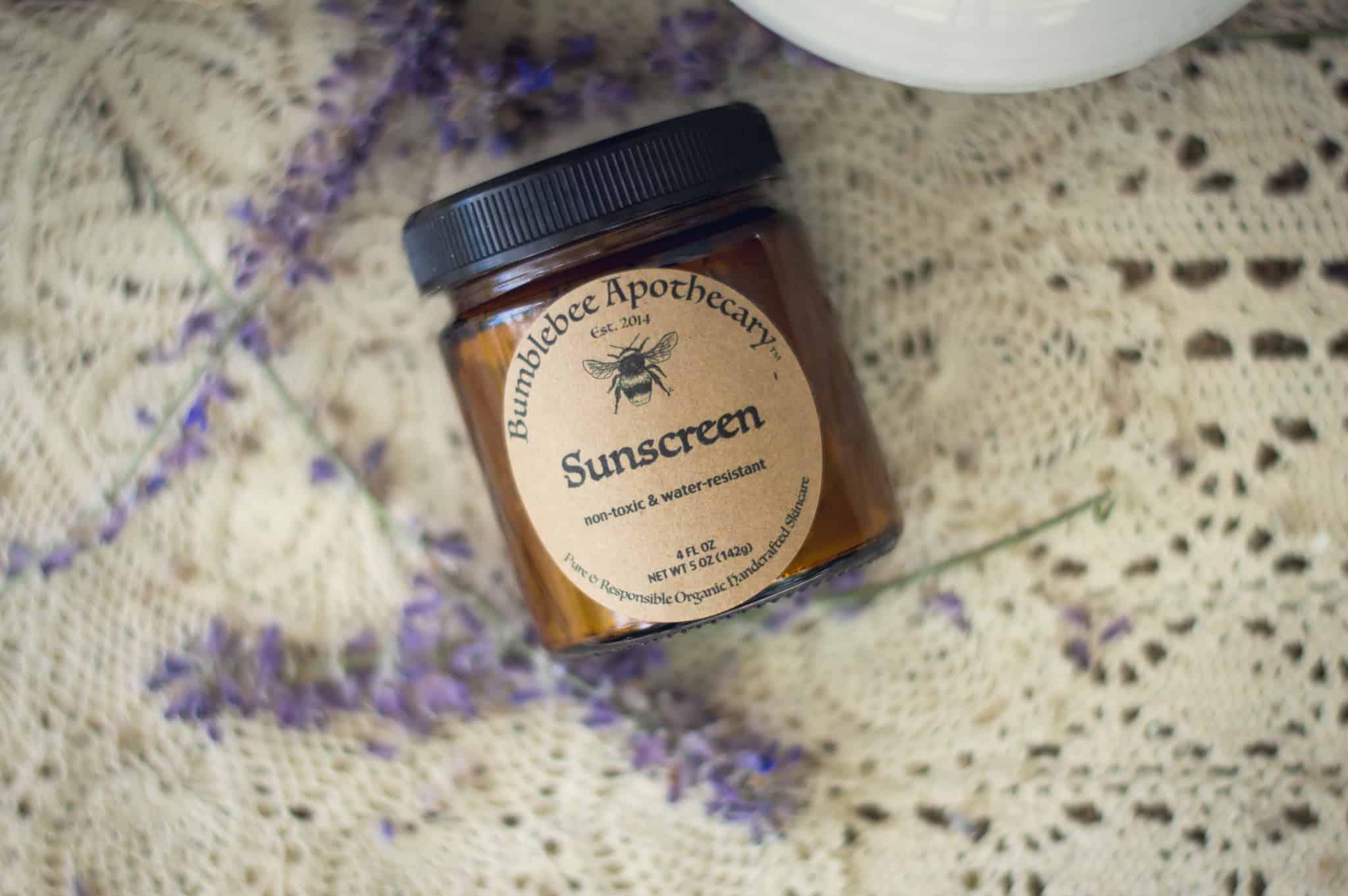 DIY natural sunscreen recipe safe for babies
