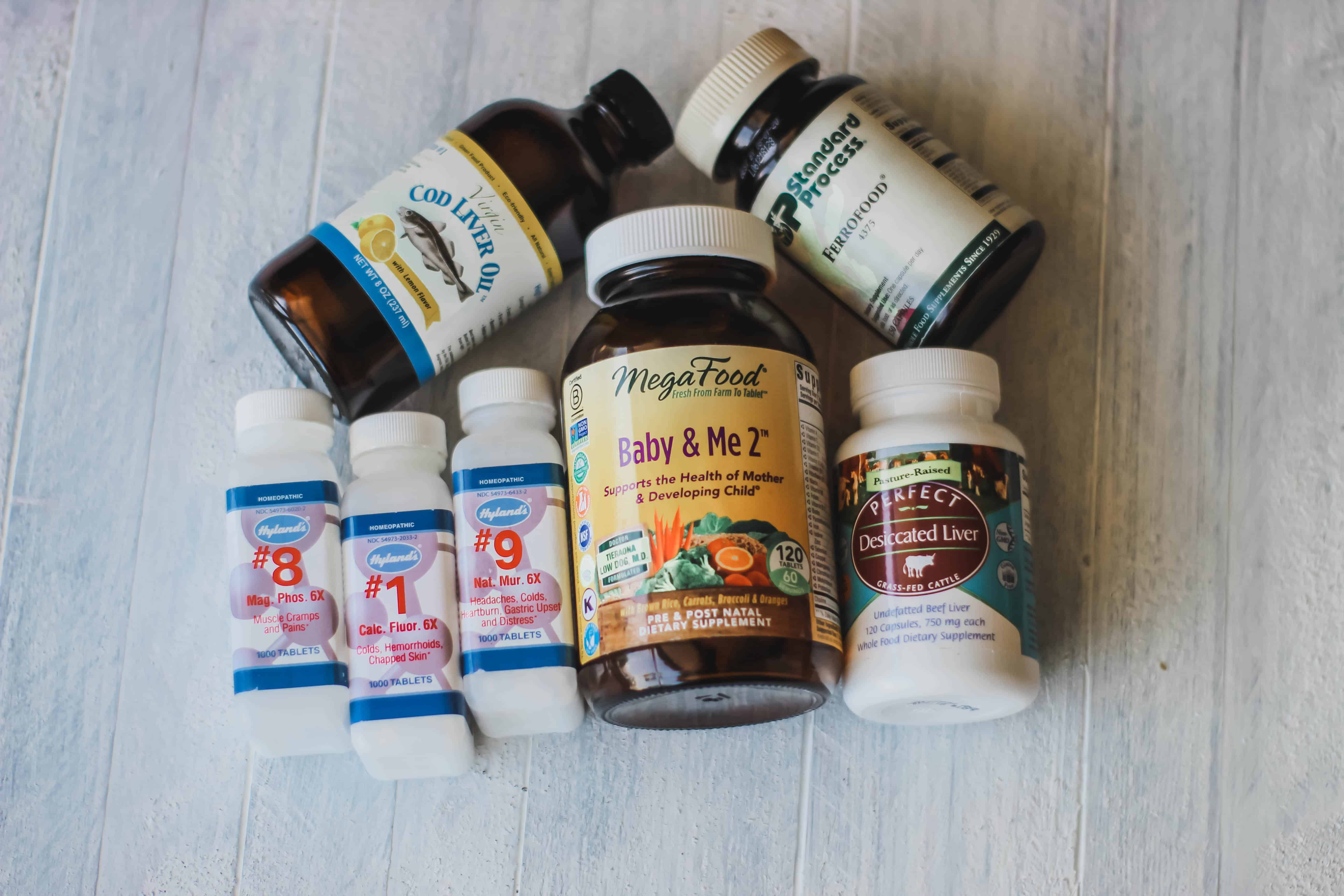 natural pregnancy postpartum essentials