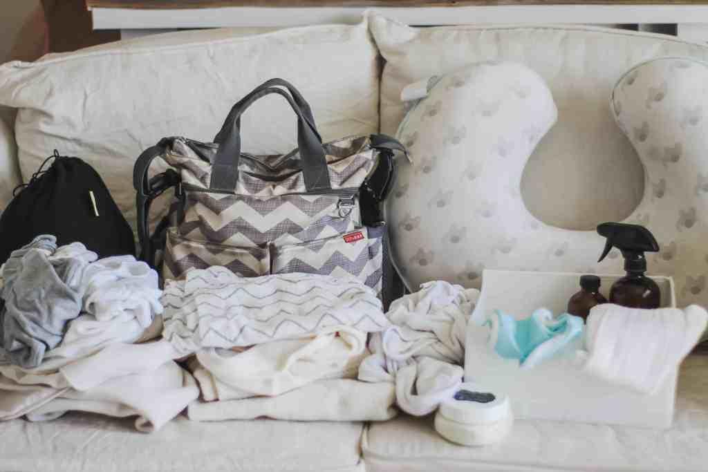 Natural baby essentials checklist