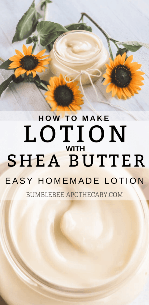 How to make lotion with shea butter | A simple and easy DIY homemade lotion recipe #diy #lotion #organicskincare