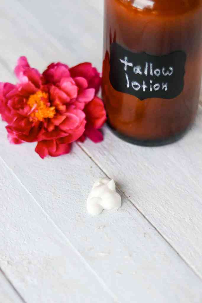 Tallow lotion recipe