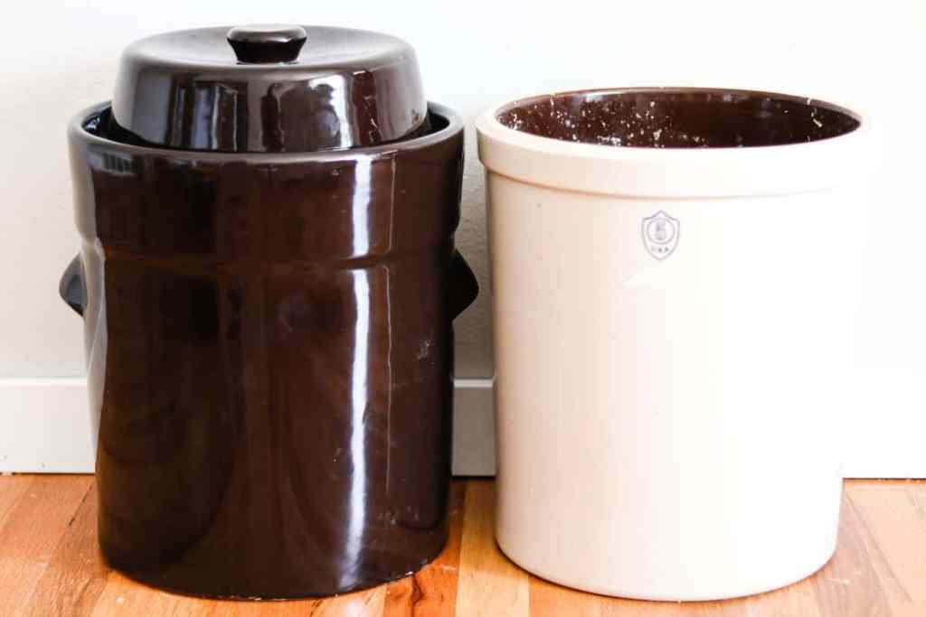 Fermentation crock comparison