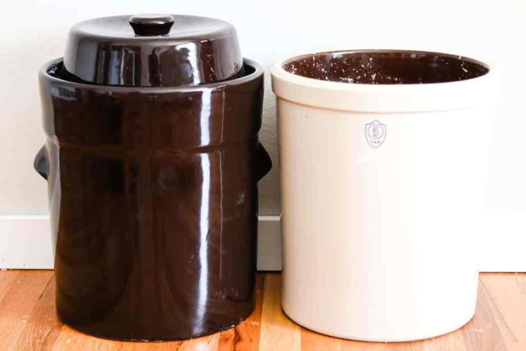 Fermentation crock comparison