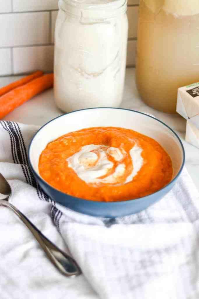 GAPS diet carrot soup