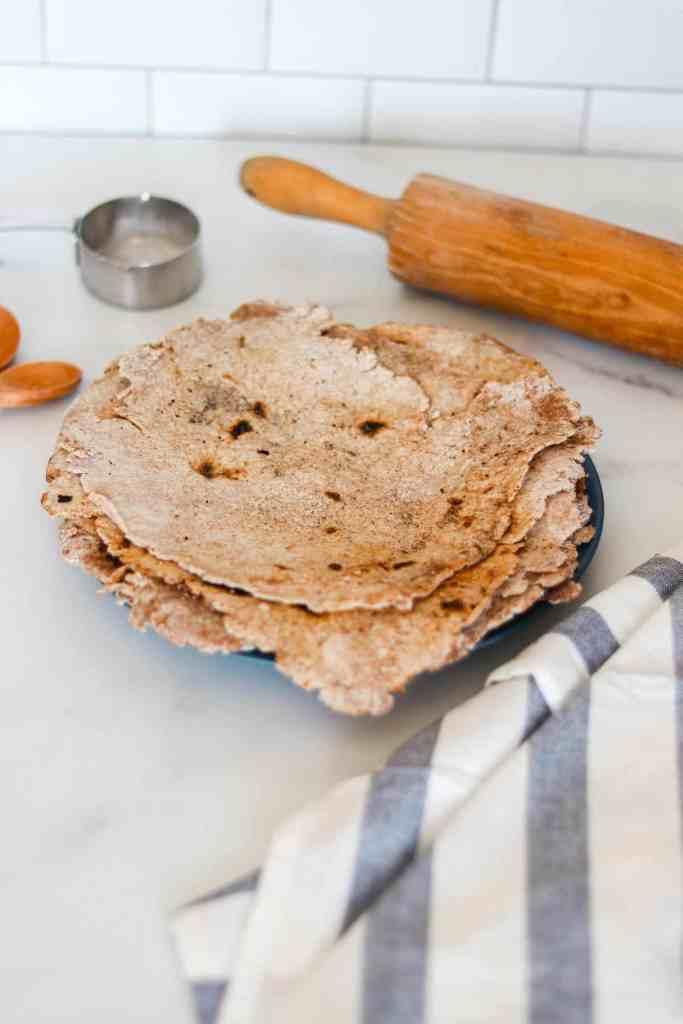 How to make traditional sourdough tortillas