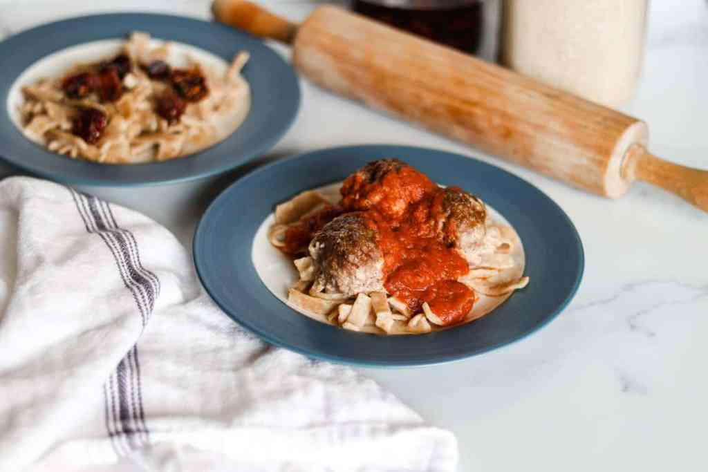 Sourdough pasta recipe