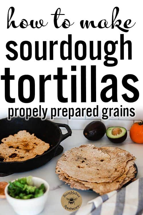 A simple and easy sourdough tortillas recipe. Enjoy the benefits of properly prepared whole grains in a delicious tortilla. Sourdough tortillas simple recipe. Chips, whole wheat, homemade, quick, best, overnight, for pies and tacos, discard, long fermented, einkorn, shells, how to make, fast #foodanddrink #healthyrecipes #nourishingtraditions