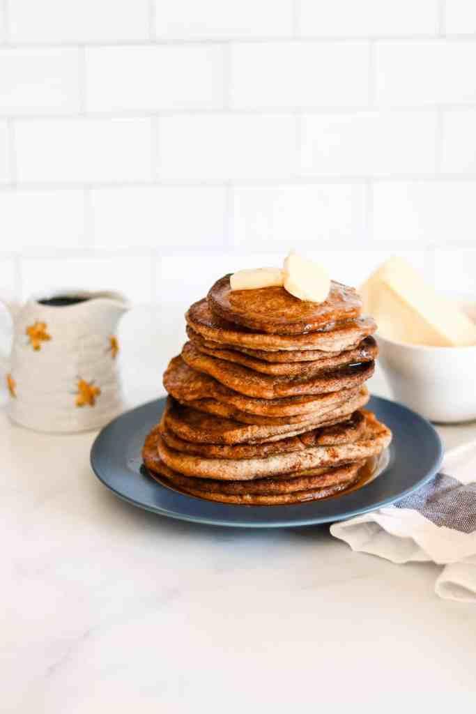 Sourdough pancakes overnight