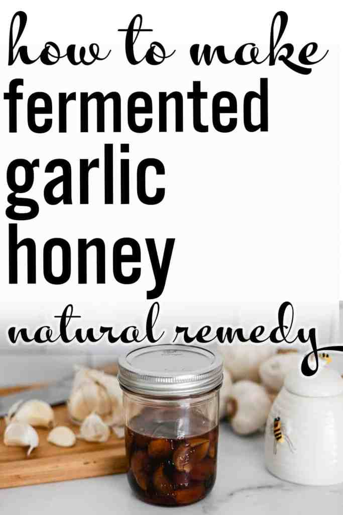 Today I'm going to show you how to boost your immune system from the kitchen with this fermented garlic honey recipe.