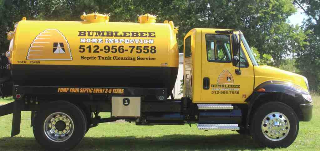 Septic Tank Cleaning Service San Marcos Austin Bumblebee