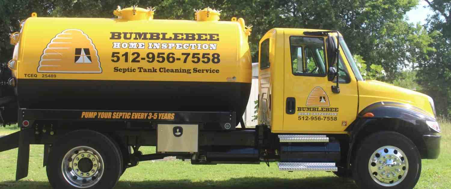 Bumblebee Septic system inspection and pumping