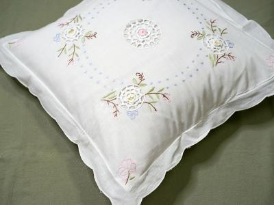 embroidered lace pillowcases pillow