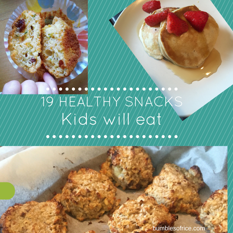 19 Healthy Snacks My Kids Will Actually Eat