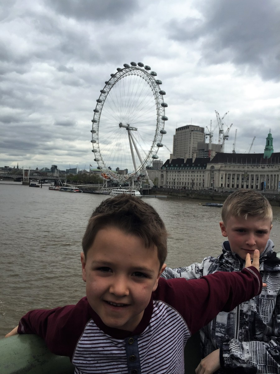 London Citybreak with Kids: Day One (featuring London Eye)