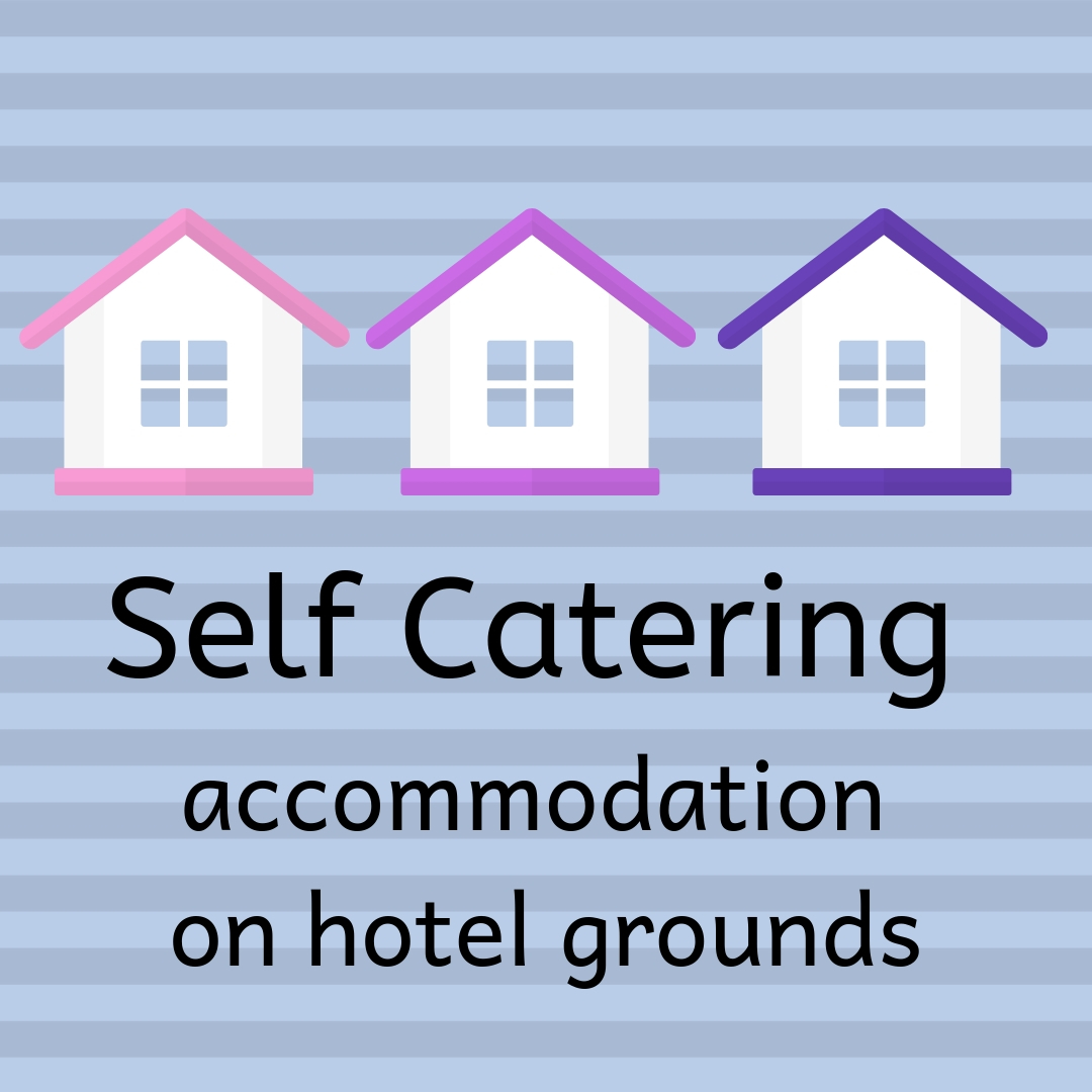 Self Catering Accommodation in Hotel Grounds in Ireland