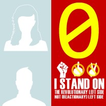 0 I stand on the revolutionary left side